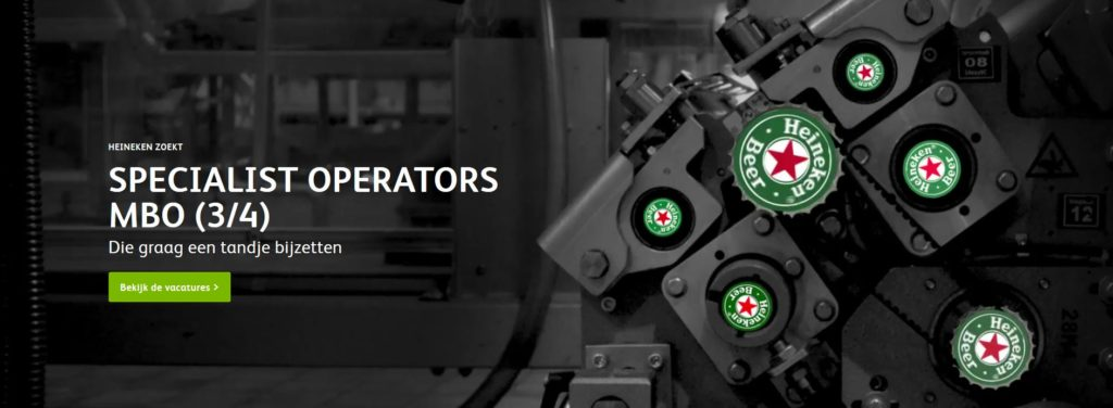 heineken technici operators