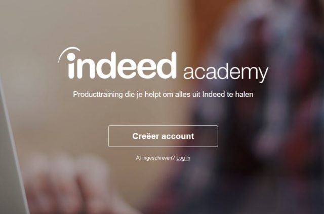 indeed academy nederlands