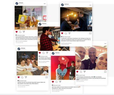 mrwork op sociale media