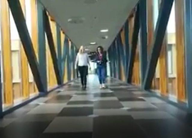 wandelend solliciteren