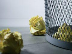 cv's in de vuilnisbak