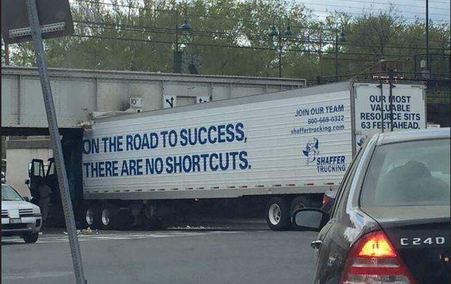 hoofdzonden no shortcuts