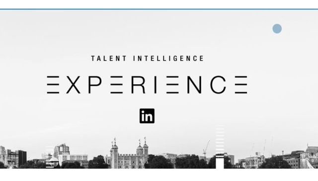 talent intelligence experience