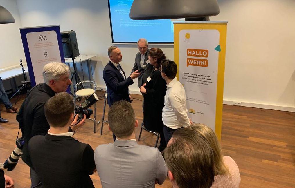 Rotterdam en Den Haag matchen op talent met HalloWerk