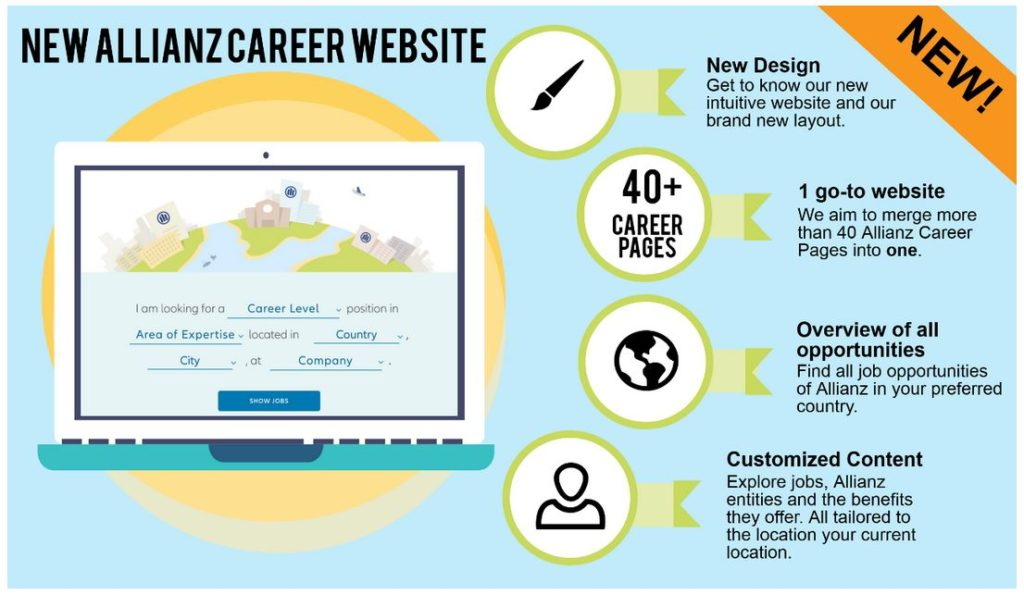 allianz career site