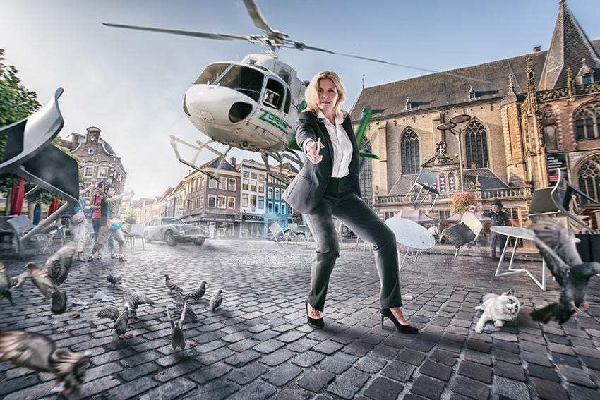 Campagne van de week: vleugje James Bond in de jacht op Zwolse ambtenaren