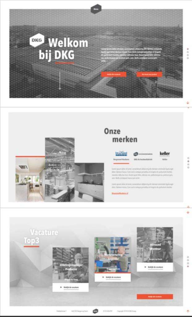 Een website met nog geen 550 woorden, hoe succesvol kan dat zijn? (inzending EN HR solutions & DKG)