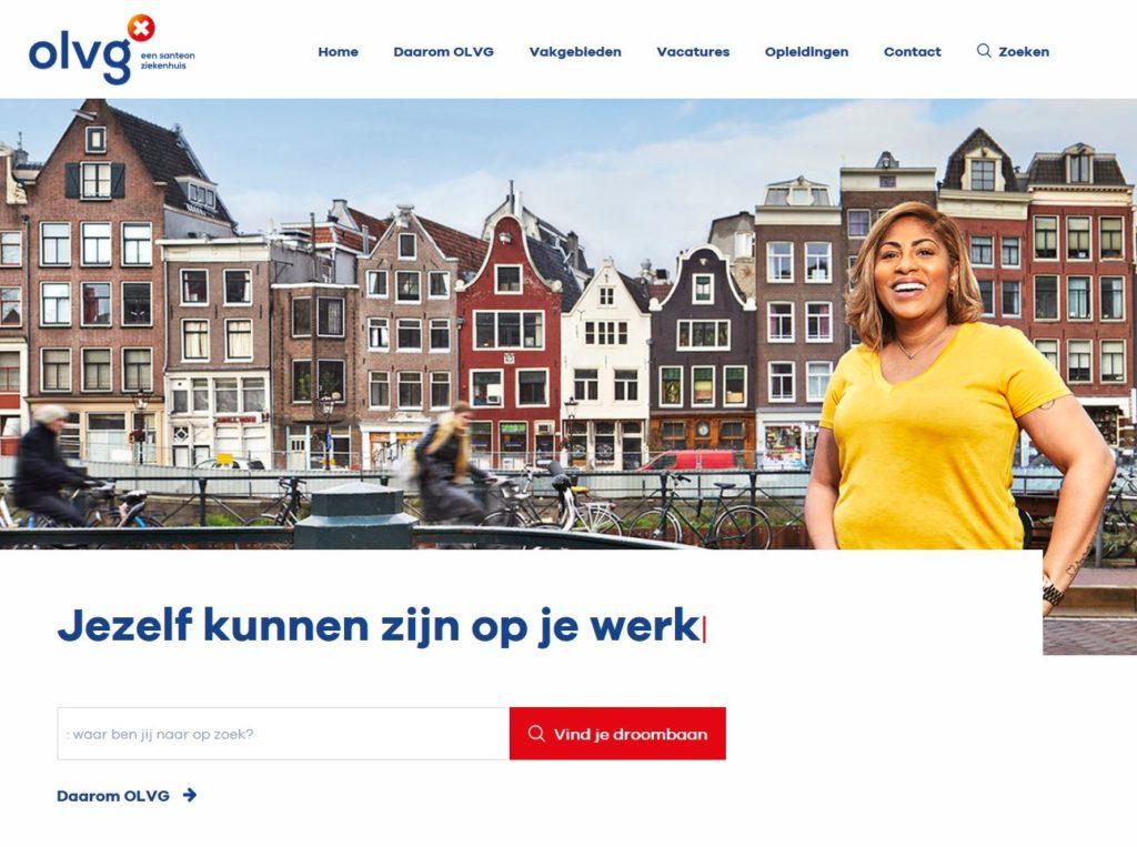 OLVG maakt het verschil in Amsterdam met employer brand & recruitment site (inzending OLVG)