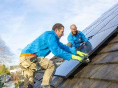 Coolblue zonnepanelen op het dak