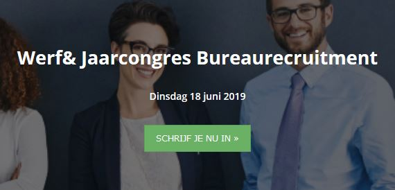 jaarcongres bureaurecruitment banner