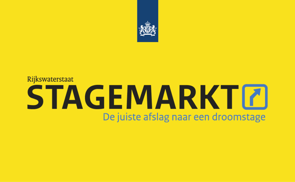 Rijkswaterstaat werft de beste stagiairs op de stagemarkt (inzending Rijkswaterstaat)