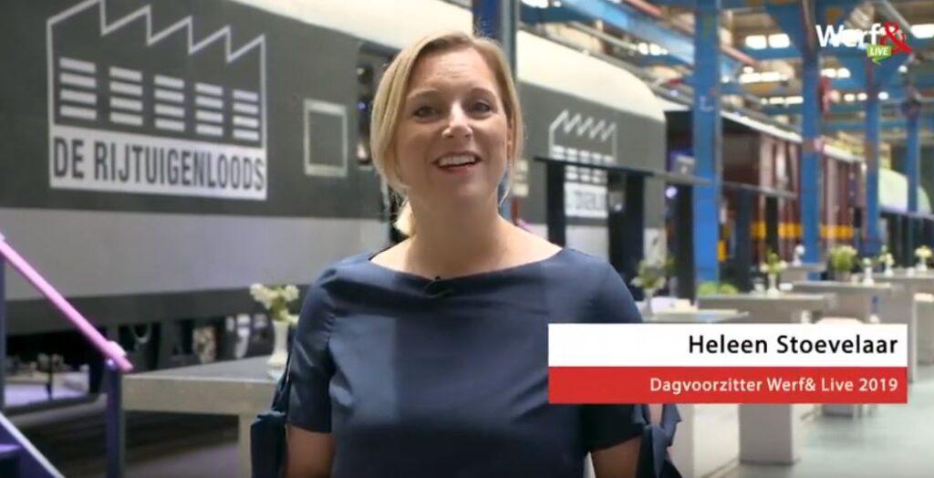 Dagvoorzitter Heleen Stoevelaar vertelt wat je kunt verwachten op Werf& Live 2019