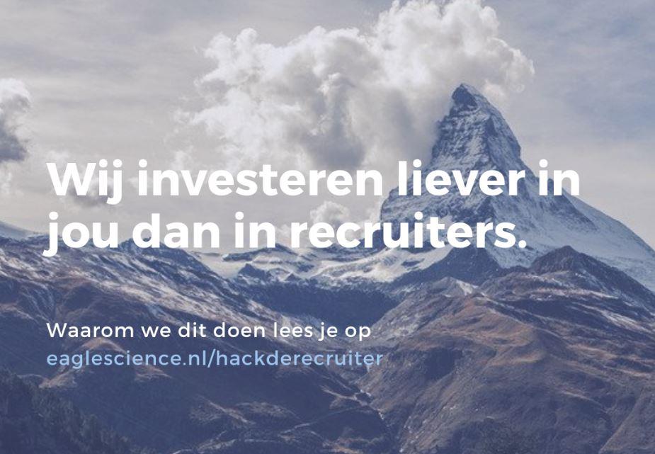 Softwarebedrijf komt met campagne om IT-recruiters de loef af te steken