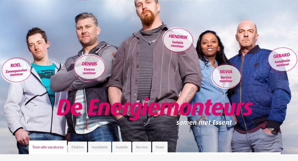 Campagne van de week: hoe Essent voor 9 partnerbedrijven 1.500 energiemonteurs zoekt