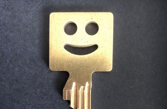 Funny Friday: een sleutel om altijd te mogen terugkeren