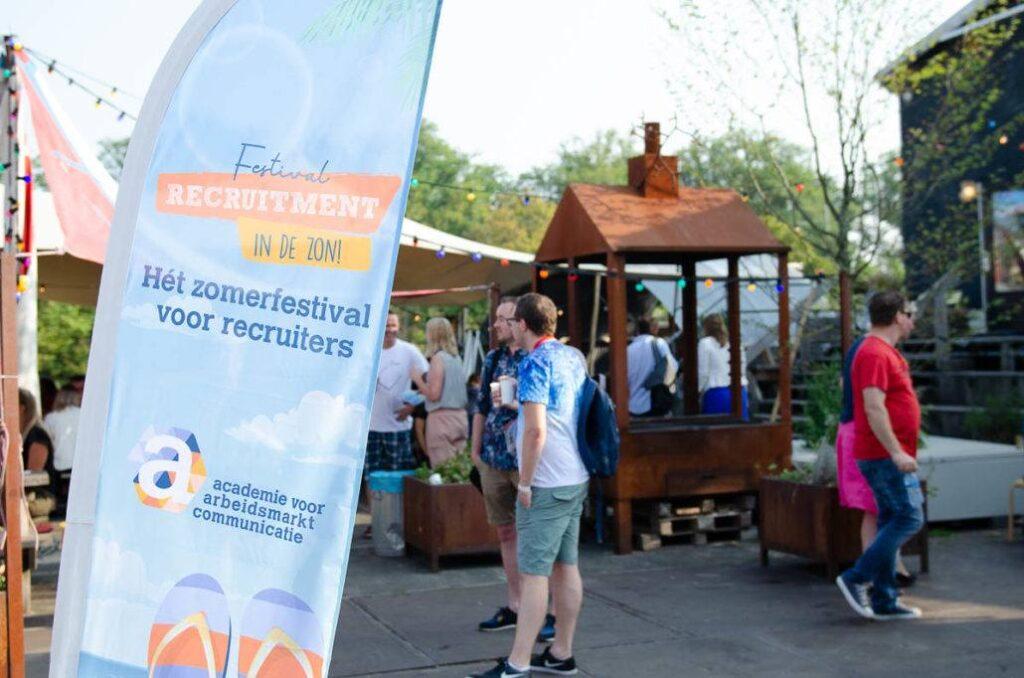 Zéér zomerse terugblik op allereerste Festival 'Recruitment in de zon'