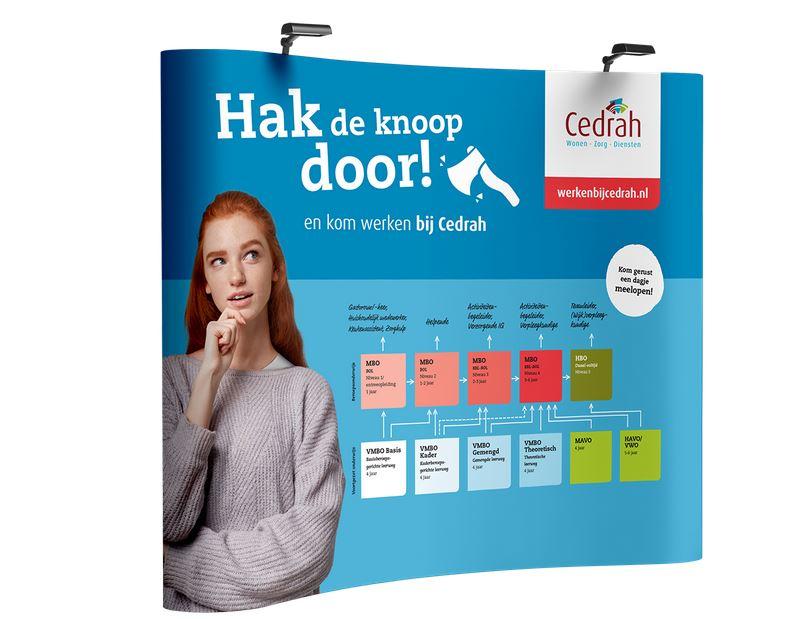 Campagne van de week: hoe Cedrah opriep de knoop door te hakken