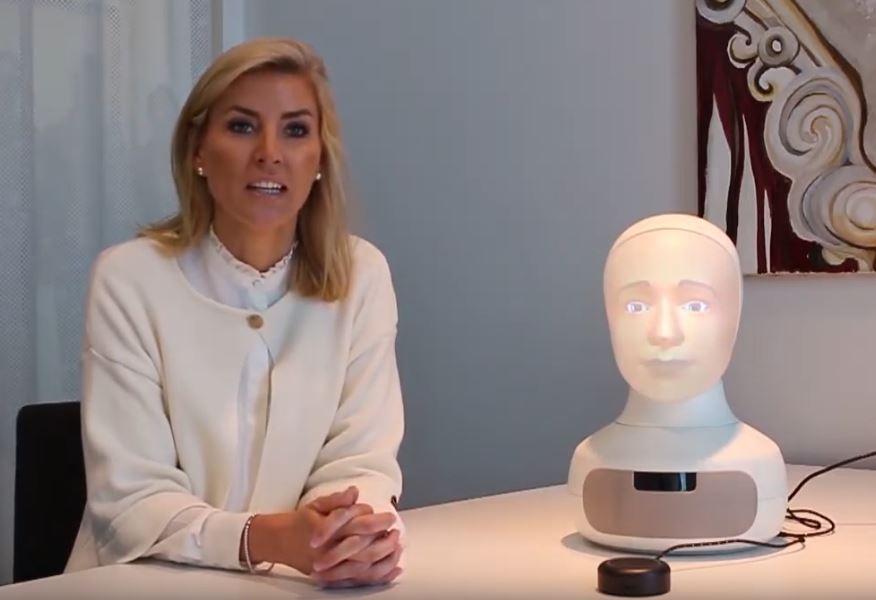 Neemt deze robot straks echt het sollicitatiegesprek over?