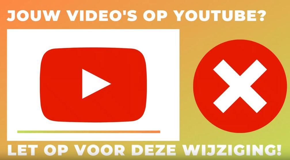 Video uploaden op YouTube? Let dan op voor deze wijziging