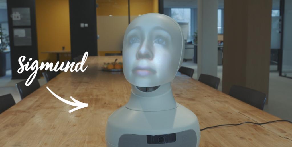 De rol van robot Sigmund in de toekomst van recruitment