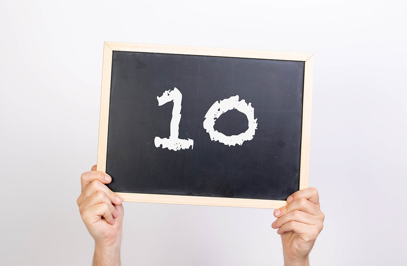 Wim op Woensdag: Waarom je beter geen 10 kunt aannemen