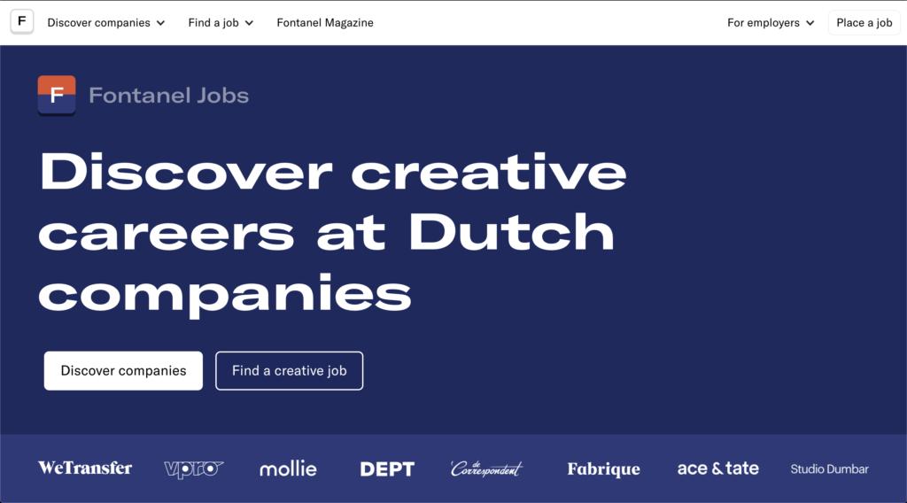 Content is king op nieuw vacatureplatform voor creatieven: 'Wij geloven nog steeds erg in curatie'