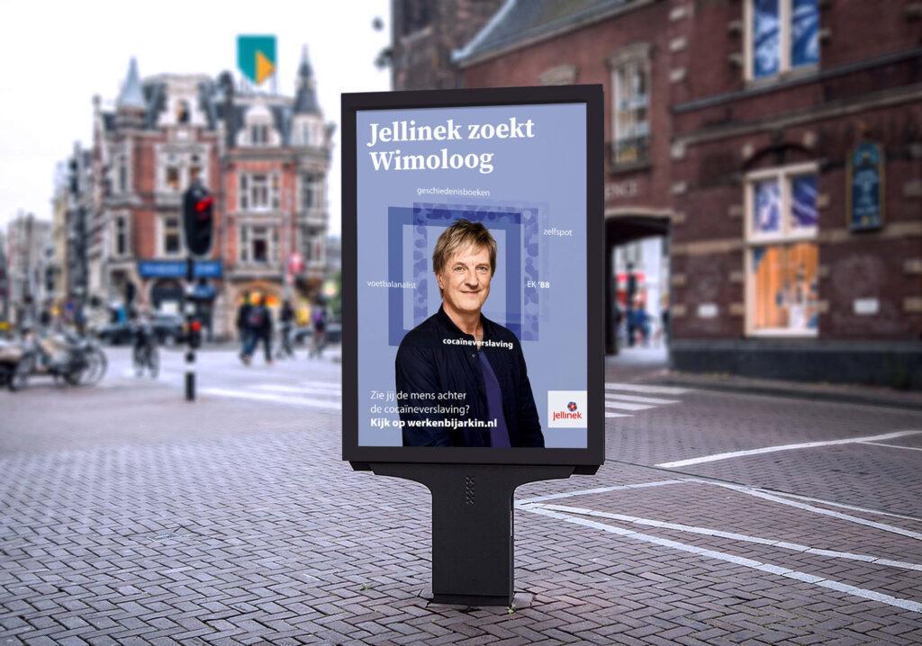 Anti-stigma & wervingscampagne 'Gezocht: Glennoloog, Ansoloog, Eusoloog,…' (inzending Arkin)