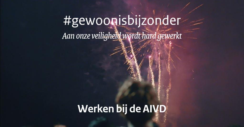 #Gewoonisbijzonder - Aan onze veiligheid wordt hard gewerkt (inzending Ministerie van BZK/AIVD)