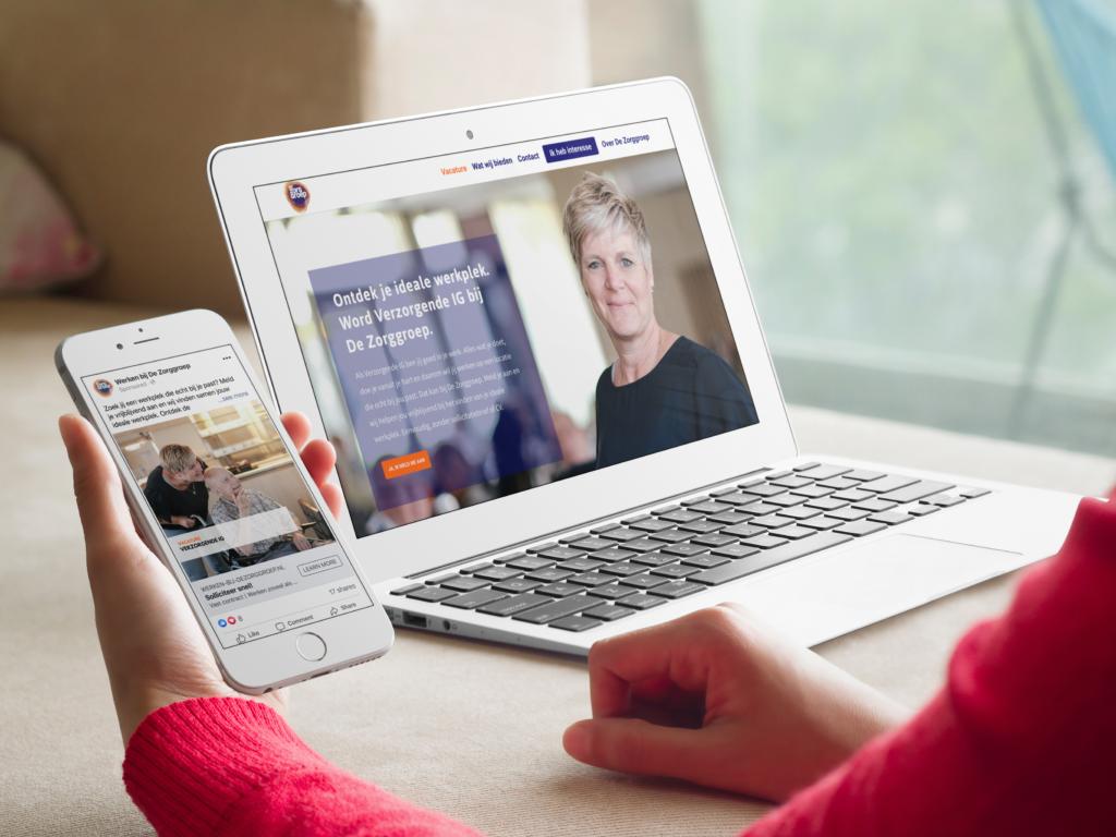 Servicegerichte wervingsaanpak voor schaarse zorgprofessionals in Limburg (inzending Jobsrepublic)