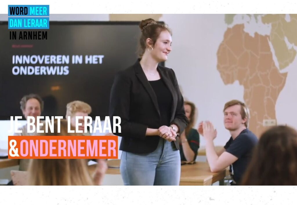 Campagne van de week: waarom Arnhem juist nú (meer dan) leraren werft