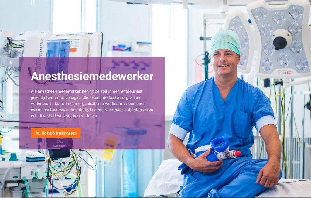 Campagne van de week: hoe het Laurentius Ziekenhuis in de huid van de ideale kandidaat kruipt