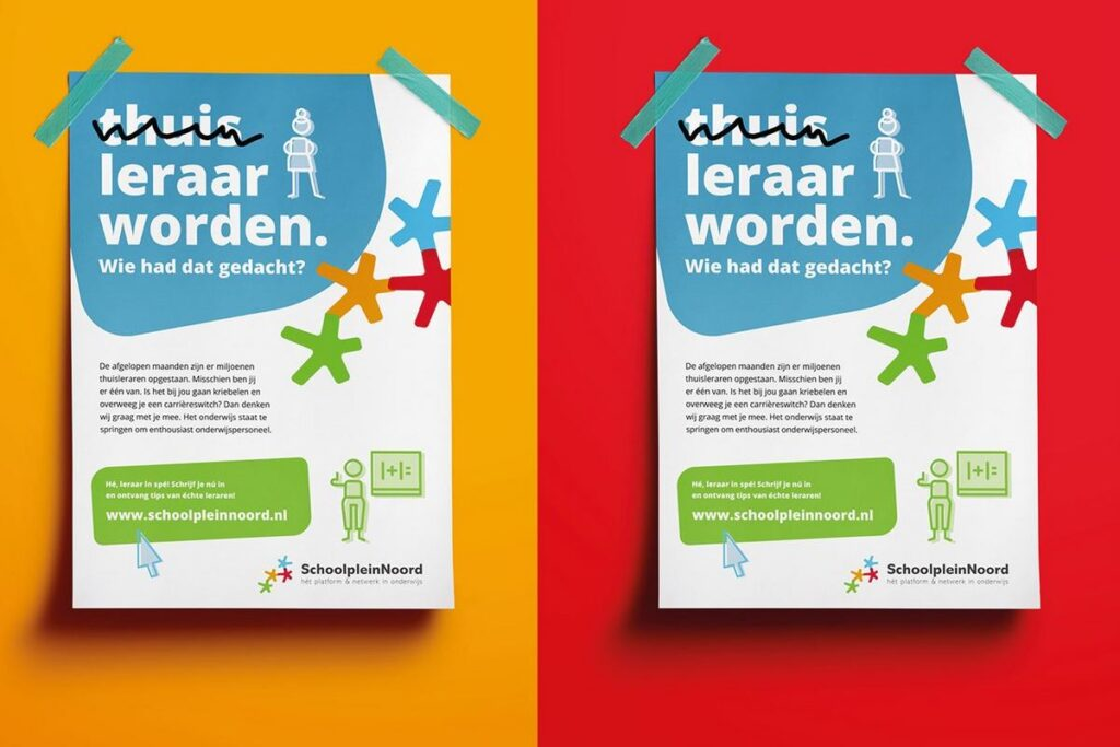 Campagne van de week: hoe het noorden de coronacrisis gebruikt om het lerarentekort aan te pakken