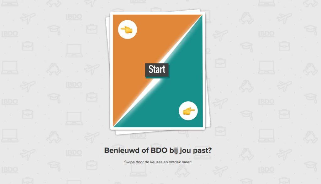 Campagne van de week: de game waarmee BDO het 'beste van twee werelden' laat zien