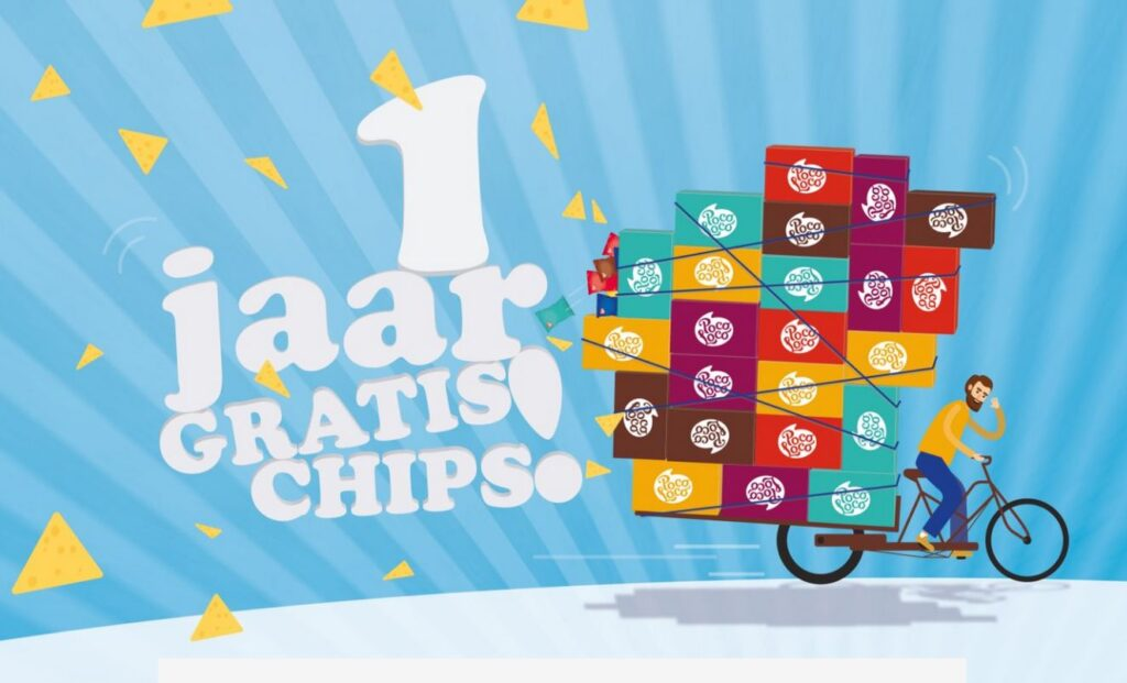 'Vetste referral-bonus ooit': een jaar lang gratis chips