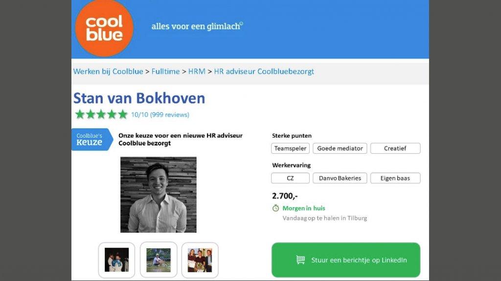 Feel Good Friday: hoe de knappe sollicitatie van Stan van Bokhoven viraal ging