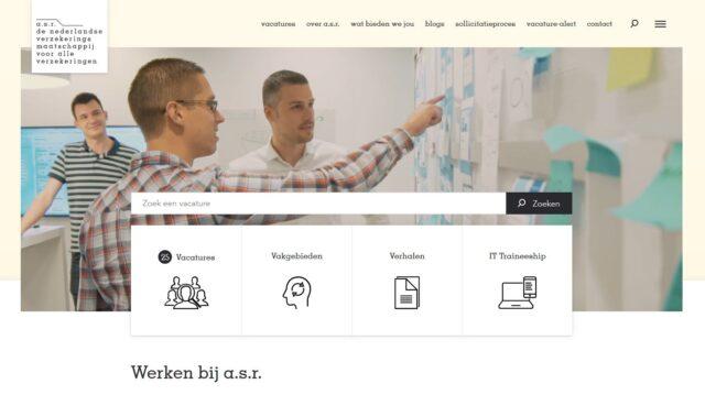 recruitmentsites onderzoek digitaal werven asr