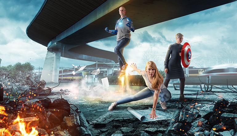 Campagne van de week: hoe Zwolle tijdreizigers en wendbare helden zoekt