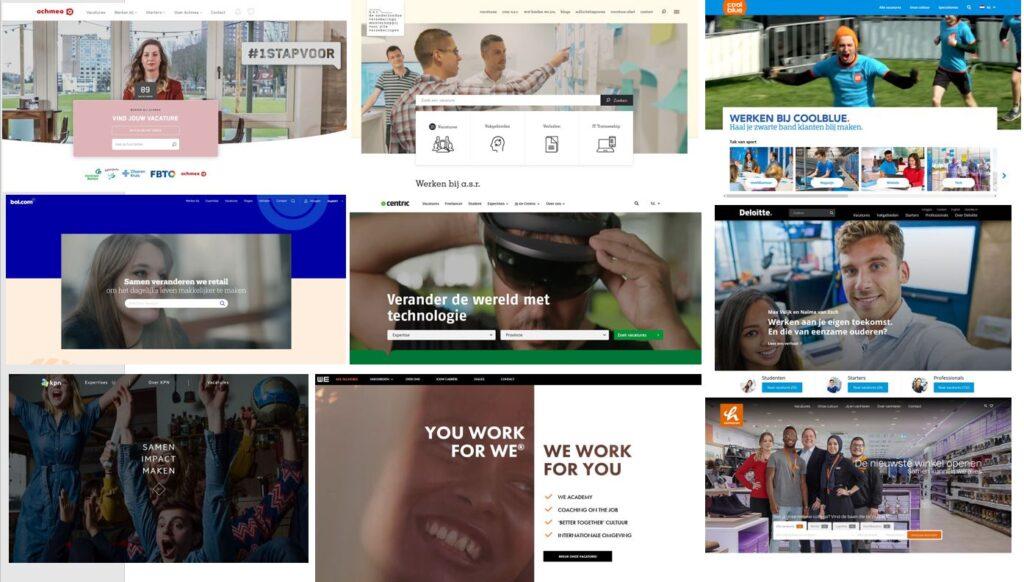 Dit zijn de 9 beste corporate recruitmentsites van Nederland