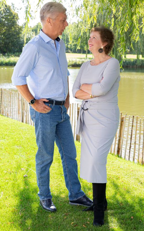 Compagnon-directeuren Frank Roders en Hetty Moll
