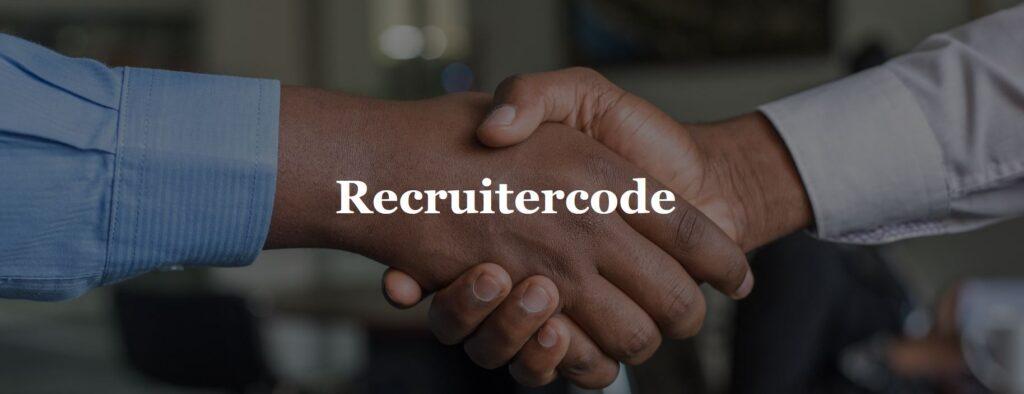 de recruitercode