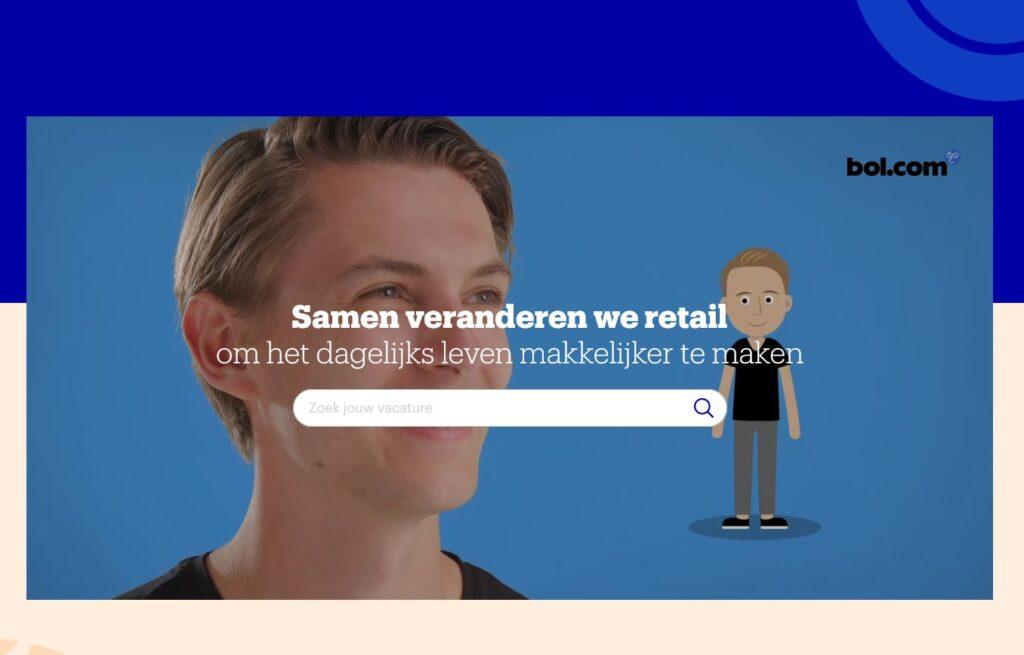 Hoe de recruitmentsite van Bol.com voor de derde keer (!) Digitaal Werven won