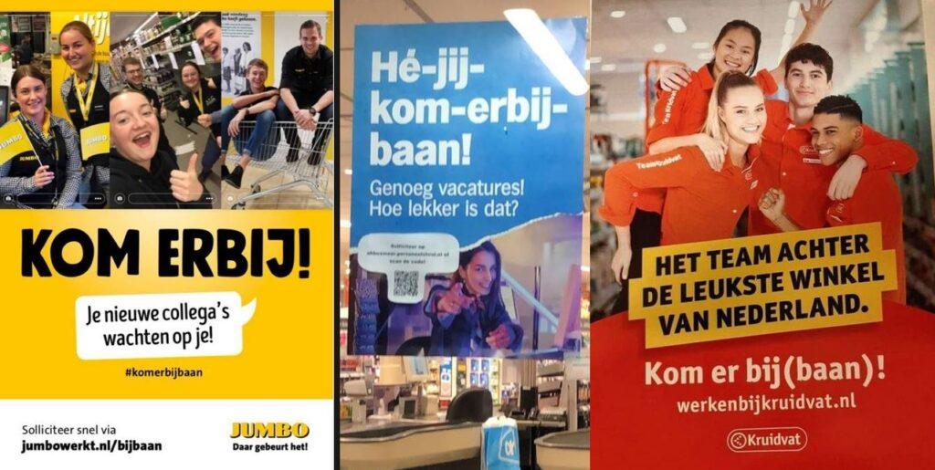 Feel Good Friday: De grappige strijd rondom Albert Heijns 'Kom-er-bijbaan'-campagne
