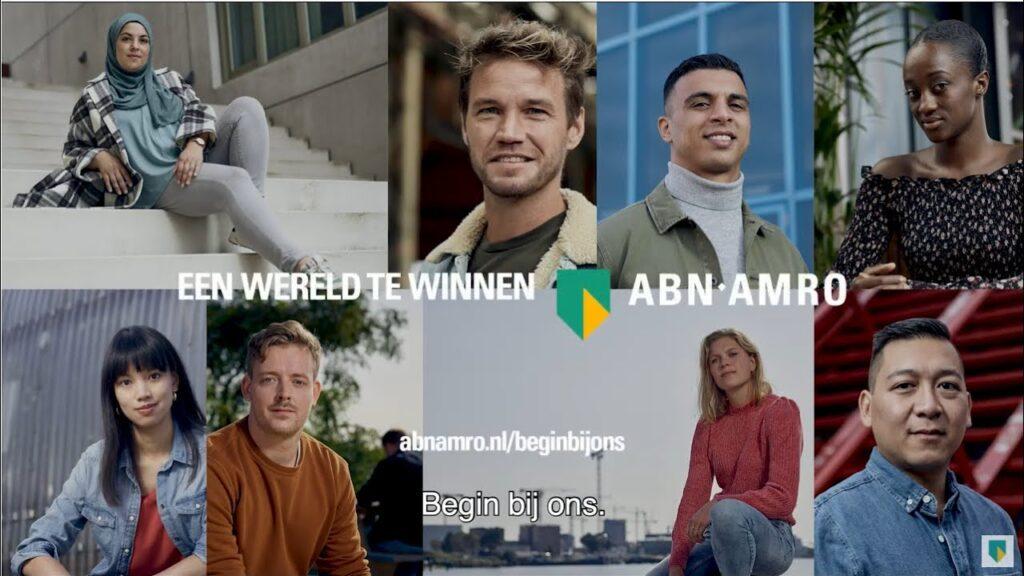 Campagne van de week: hoe ABN Amro gamechangers, frontrunners en tegendraadse denkers zoekt