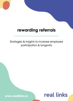 Rewarding referrals beloond