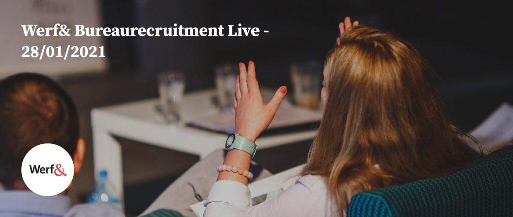 steven ehrlich op bureaurecruitment 2021