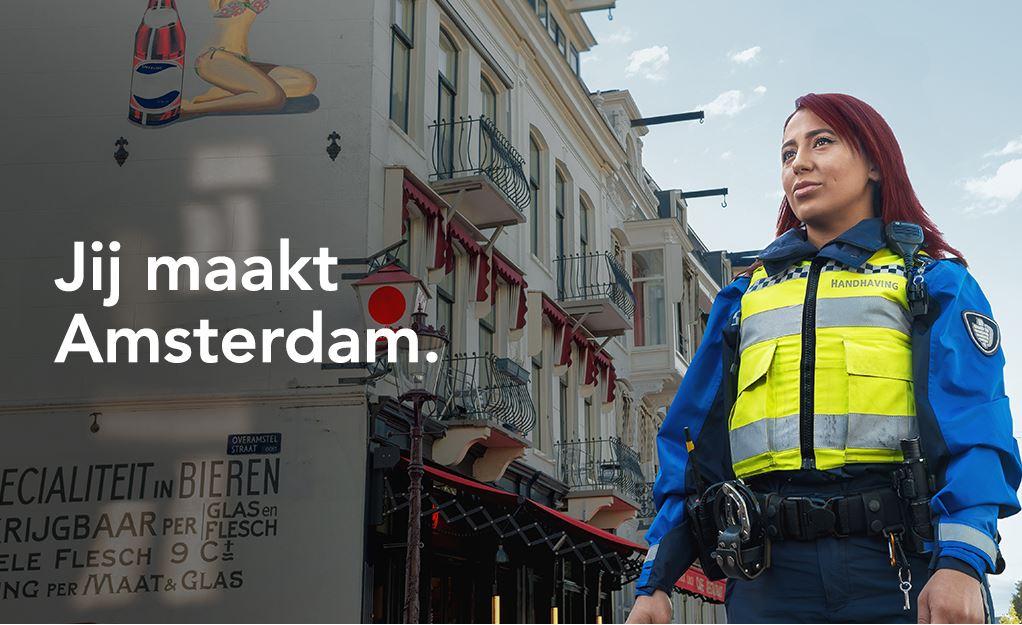 Campagne van de week: zo werft de gemeente Amsterdam zijn handhavers