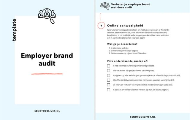 employer brand audit template