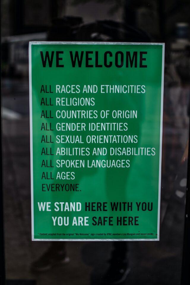 diversiteit en inclusiviteit dus