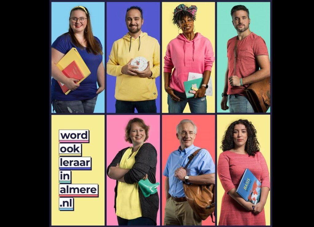 Campagne van de week: Hoe Almere de steeds schaarsere leraren wil aantrekken