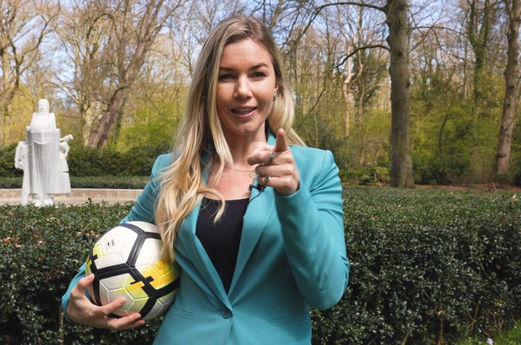 Campagne van de week: De ex-profvoetbalster die voor RGF Staffing nieuwe recruiters zoekt